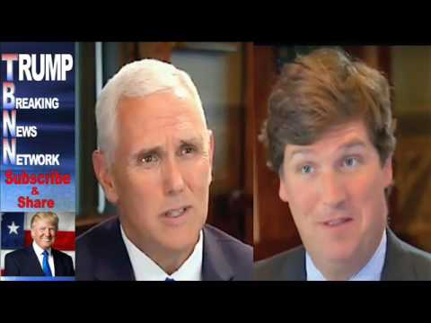 With ONE SENTENCE Mike Pence Shook Tucker Carlson With Who He Said Trump Will Fire Next