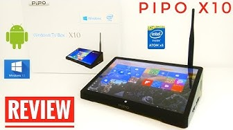 "PIPO X10 Tablet - TV Box REVIEW - Intel Z8300, 4GB RAM, 64GB ROM, 10.8"" 1080P Screen"