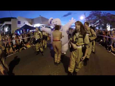 Manly Holloween Parade Australia 2016 brought to you by the Queensland Ghosbusters Franchise