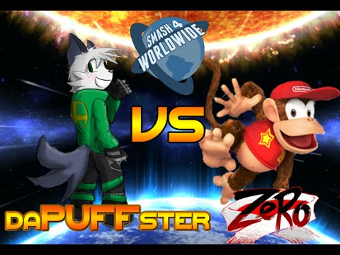 Smash 4 Worldwide WF: Dapuffster (Mii Brawler) Vs ZeRo (Diddy Kong)