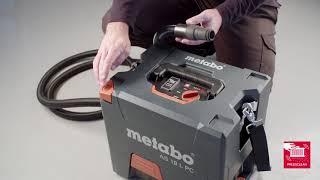 Metabo Akku-Sauger / Cordless vacuum cleaner AS 18 L PC