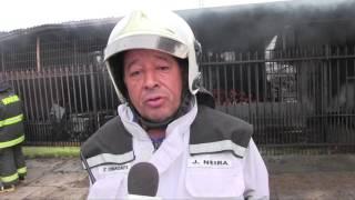 Incendio Deja Vivienda Destruida En Colima Con Maule En Angol