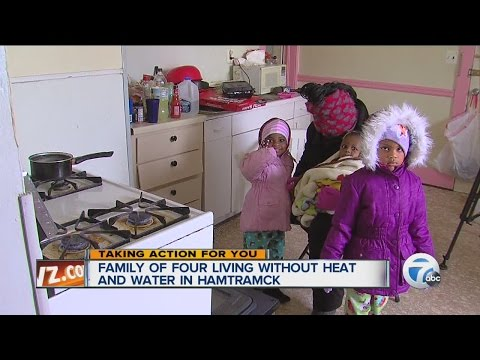 Family of four living without heat and water in Hamtramck