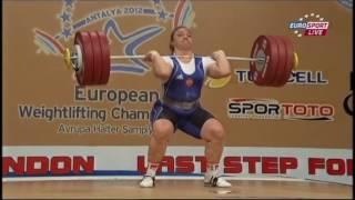 Tatiana Kashirina World Record Clean and Jerk attempt