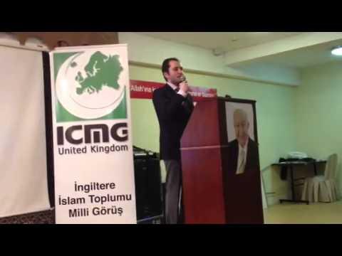 Fatih Erbakan'in Londra Konferansi 1 Bolum