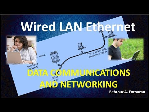 13 DATA COMMUNICATIONS AND NETWORKING Wired LAN Ethernet