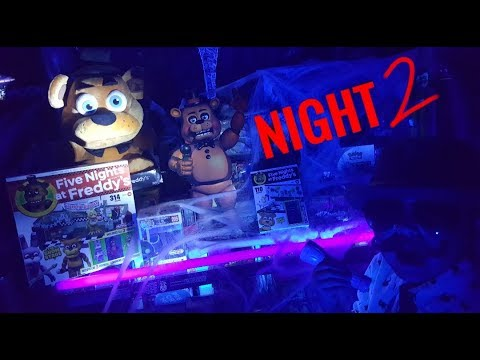 WARNING! FIVE NIGHTS AT CARL'S! NIGHT 2! SCARY FREDDY THE 13TH! TRY NOT TO GET SCARED CHALLENGE!