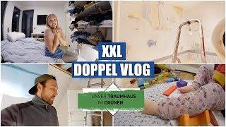 XXL VLOG | Wände verspachteln & streichen | Familienleben VS Hausbau |  Isabeau