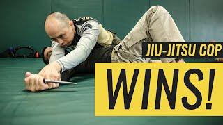 Jiu-Jitsu Works PERFECTLY for Police Officer thumbnail