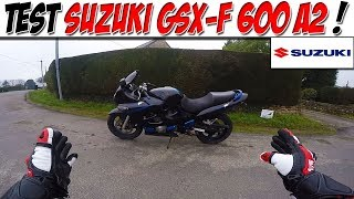 #Moto Vlog 118 : TEST SUZUKI GSX-F 600 A2 / UN CHANT MÉLODIEUX!😍