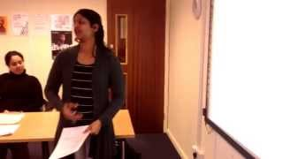 nvq level 2 in business administration student presentation video