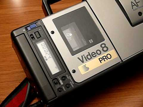 Vintage Sony CCD-V110 Video 8 8mm Pro Camcorder
