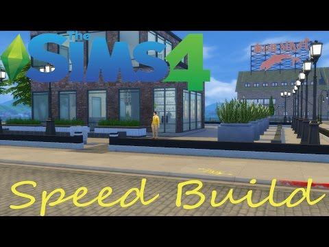 The Sims 4: Speed Build - THE WAREHOUSE (KARAOKE BAR)