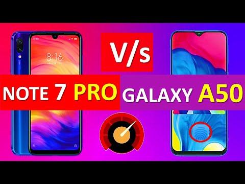 Redmi Note 7 Pro Vs Samsung Galaxy A50 Comparison   Price   Specs   Camera   Battery   Display Mp3