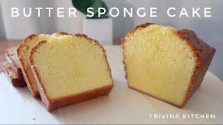 RESEP BUTTER SPONGE CAKE LEMBUT DAN ENAK