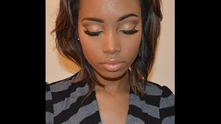 "Natural ""Everyday"" Foundation Routine for Brown skin Women | GuruWannaBe"