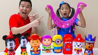 Download Wendy Pretend Play Mixing Slimes & Fun Slime Challenge Mp3 and Videos