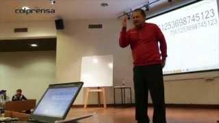 Jaime García, la calculadora humana se pone a prueba
