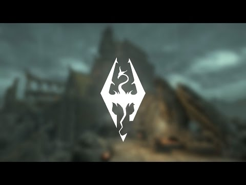 Skyrim - Music & Ambience - Rainy Towns [Low-effort Edition]