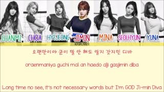 AOA - Come To Me [Eng/Rom/Han] Picture   Color Coded HD