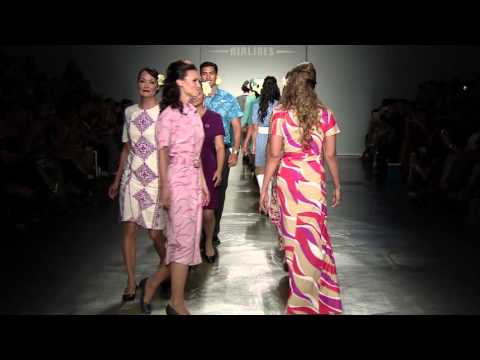 Hawaiian Airlines at HONOLULU Fashion Week 2015 Preview