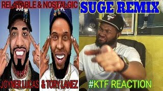 RELATABLE VS NOSTALGIC | Joyner Lucas & Tory Lanez - Suge (Remix) -REACTION