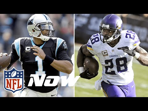 6 Players/Team Ike & MJD Are Thankful For in 2015 | Cam Newton, Adrian Peterson and MORE! | NFL Now