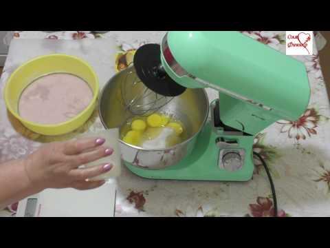 Планетарный миксер Kitfort КТ-1324-3  Пробую сделать бисквит
