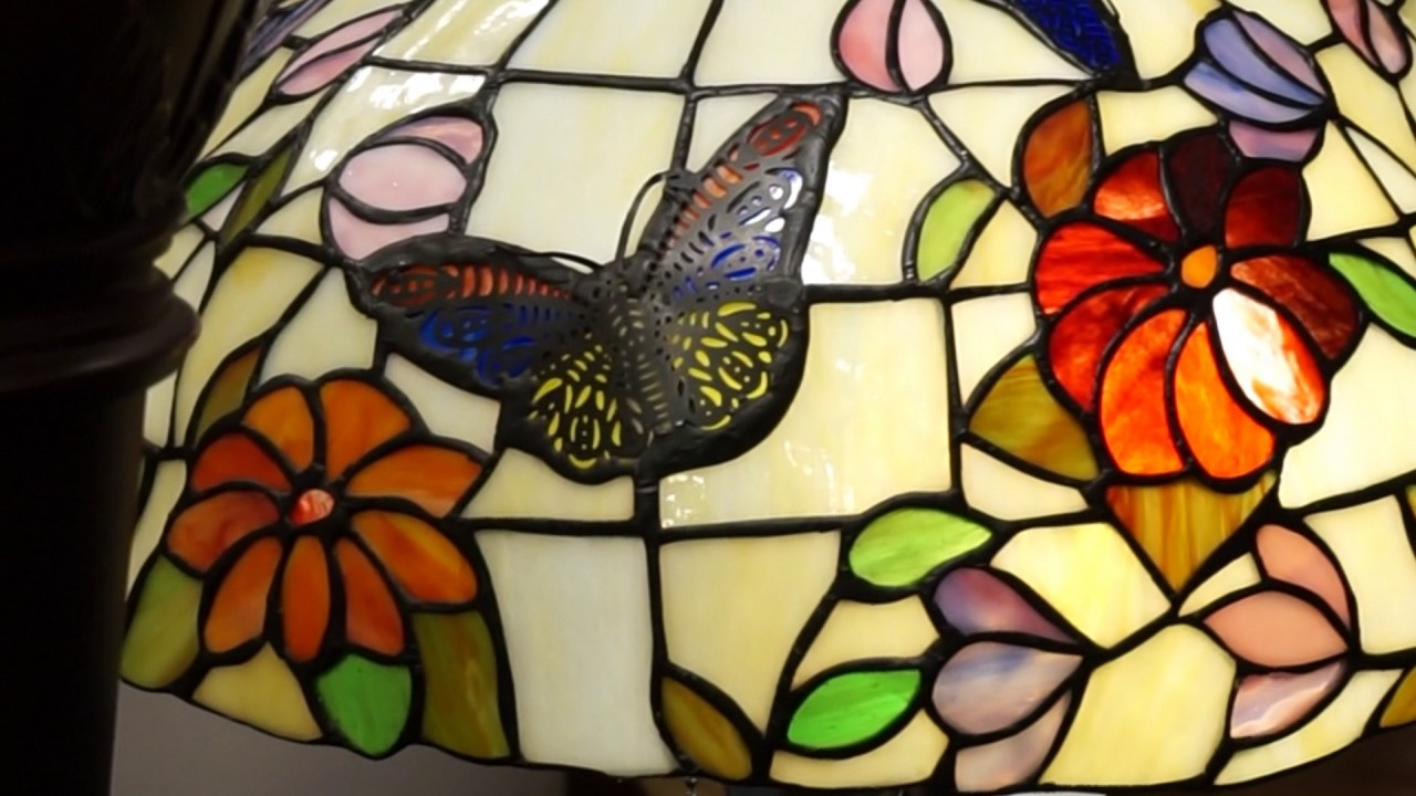 Tiffany lampen butterfly youtube
