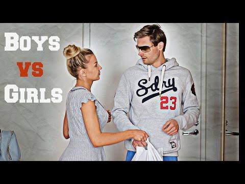 #2 ПАРНИ против ДЕВУШЕК! Вещи КОТОРЫЕ МЫ ДЕЛАЕМ ПО-РАЗНОМУ! #2 Girls vs Guys everyday routine!