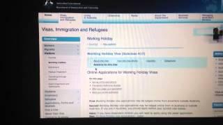 Obtenir visa Australie - Work & Travel
