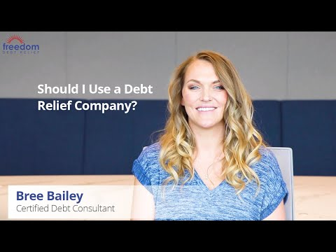 should-i-use-a-debt-relief-company?-|-freedom-debt-relief
