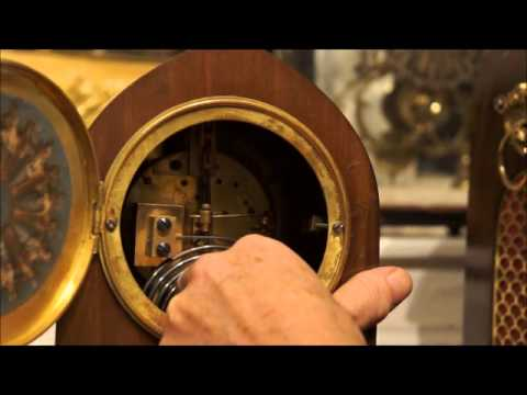 How to set up a French Mantle Clock
