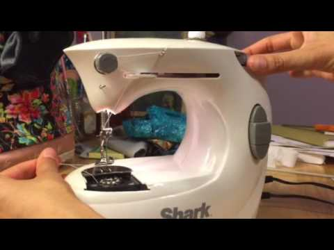 Shark By Euro Pro Demo YouTube Extraordinary Dressmaker Mini Sewing Machine Instructions
