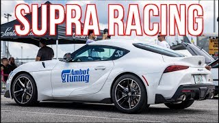 homepage tile video photo for Tuned 2020 Supra Challenges Sequential Skyline R33 GTR and ROWDY SR20 Miata!