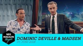 Heute zu Gast: Dominic Deville & Madsen   NEO MAGAZIN ROYALE mit Jan Böhmermann - ZDFneo