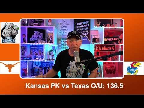 Kansas vs Texas 3/12/21 Free College Basketball Pick and Prediction CBB Betting Tips