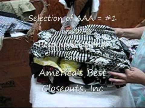 AAA Used Summer Clothing Second Hand Clothes Best Quality and Recycled Used Apparel and Garments