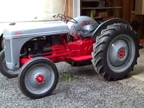 1949 Ford 8n Tractor Youtube