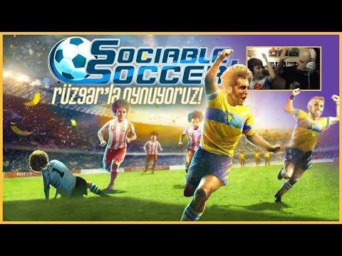 Rüzgar'la Sociable Soccer Oynuyoruz!