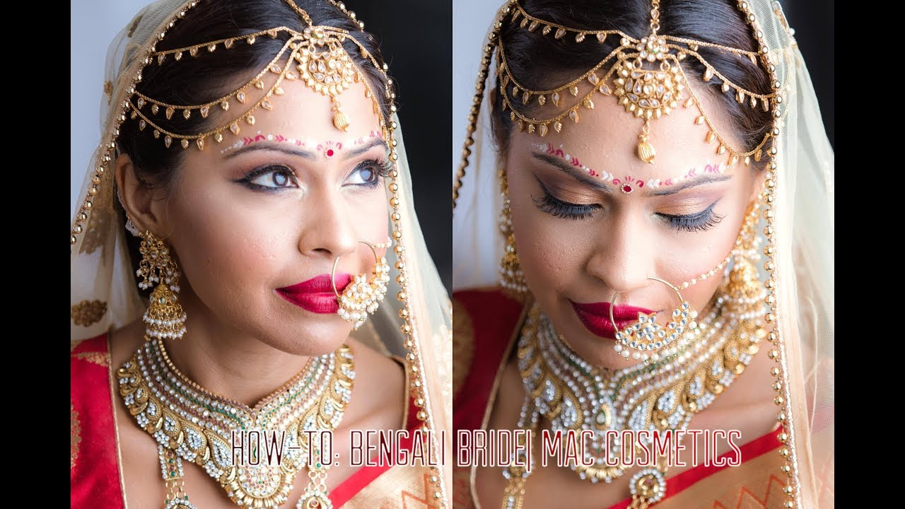 Mac makeup how to bengali bridal tutorial south asian mac makeup how to bengali bridal tutorial south asian bridal makeup baditri Images
