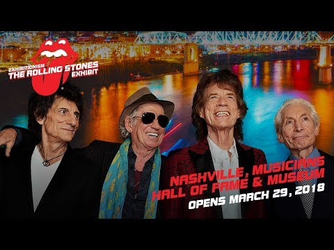 The Rolling Stones Exhibit is Coming to Nashville!