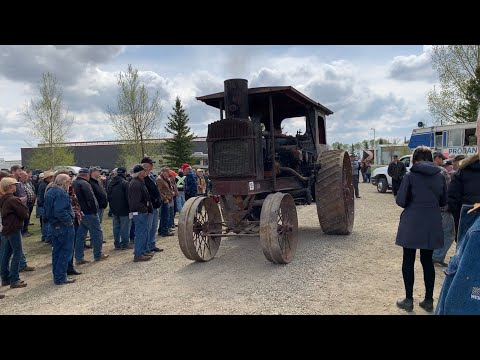 Rare tractor auction! we sell, how will we do??