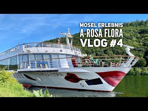 Mosel Kreuzfahrt mit Arosa Flora Vlog #4: Saarschleife & Trier