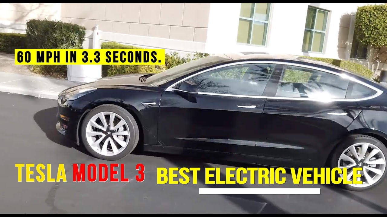 Tesla model 3 ride experience | The BEST electric car I've Ever Seen