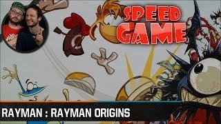 Speed Game - Rayman Origins - Défi en moins de 55 minutes
