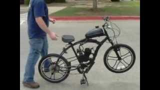 Homemade motorbike with 80cc motor attached Gas powered bike Chinese motor for sale Cedar park tx