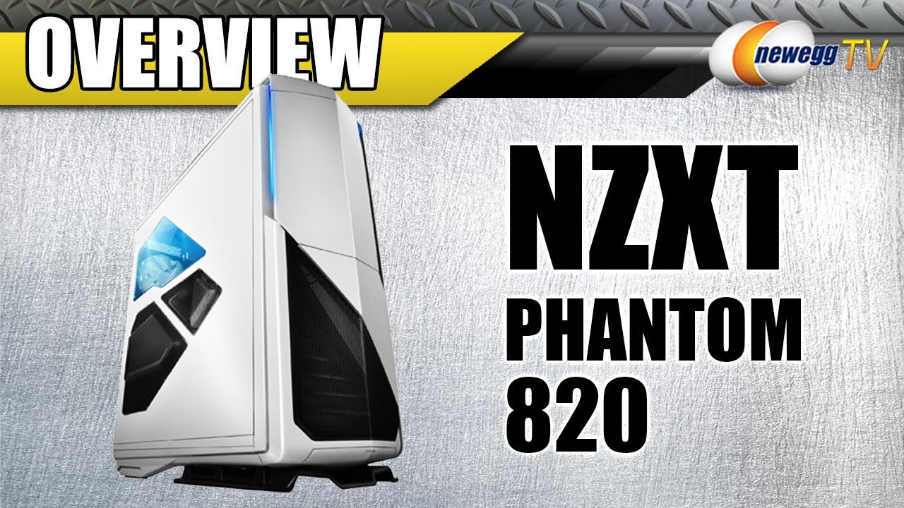 Newegg TV: NZXT Phantom 820 Full Tower Computer Case Overview