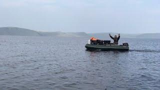 Рыбалка на Красноярском водохранилище Первая часть