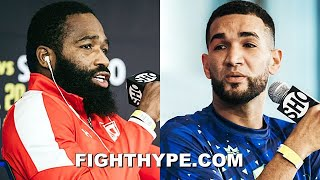 "ADRIEN BRONER TRADES ""ASS WHOOPIN"" WORDS WITH JOVANIE SANTIAGO; TELL EACH OTHER ""READY TO DIE"""